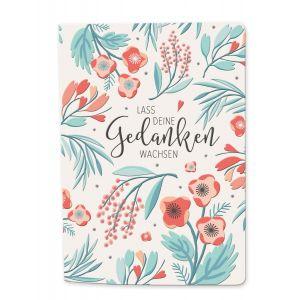 Notizbuch Blütenreich