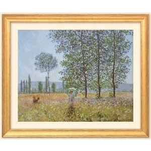 """Claude Monet: Felder im Frühling"""""""