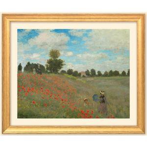 """Claude Monet: Bild """"Les coquelicots à Ar"""