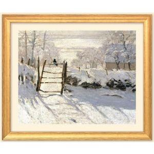 """Claude Monet: Bild """"Die Elster"""" (1868/69"""