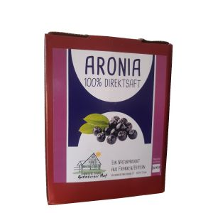 Aronia Saft - 3 Liter Box