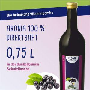 Aronia Saft 0,75l