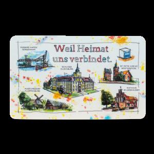 """NWZ """"Heimat"""" Brettchen"""