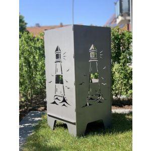 "Feuertonne 78cm ""Leuchtturm"""