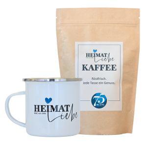 NWZ-Jubiläumskaffee inkl. Emaillebecher
