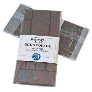 NWZ-Jubiläumsschokolade Vollmilch